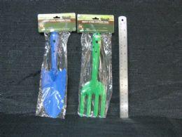 36 Units of Metal Garden Shovel and Rake Set - Garden Tools