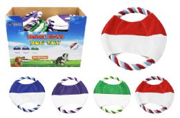 36 Units of Dog Rope Disc - Pet Toys
