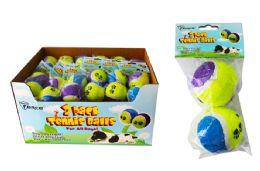 36 Units of Dog Tennis Balls - Pet Toys