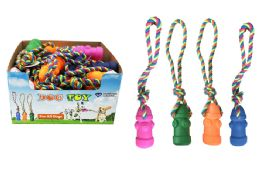 48 Units of Fire Hydrant Rope Dog Toy - Pet Toys