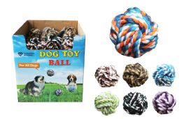 36 Units of Pet Rope Ball - Pet Toys