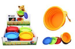 36 Units of Pop Up Silicone Pet Bowl - Pet Supplies