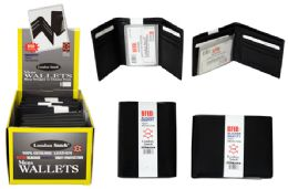 24 Units of RFID Blocker Leather Wallet - Wallets & Handbags