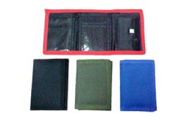 48 Units of Tri Fold Nylon Wallet - Wallets & Handbags