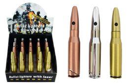 20 Units of Bullet Lighter With Laser - Lighters