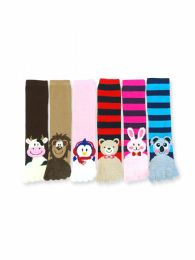 120 Units of Women's Animal Fuzzy Toe Socks Size 9-11 - Womens Fuzzy Socks
