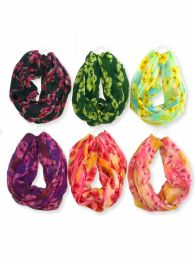 120 Units of Womens Lightweight Infinity Scarf - Womens Fashion Scarves