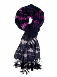 48 Units of Womens Printed Woven Scarf Assorted - Womens Fashion Scarves