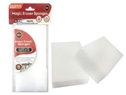 96 Units of 3pc Magic Eraser Sponges - Scouring Pads & Sponges