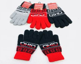 24 Units of Ohio Knitted Glove In Small - Knitted Stretch Gloves