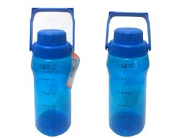24 Units of Sport Water Bottle W/ Handle - Sport Water Bottles
