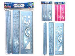 """144 Units of 12""""L 3pc Ruler Set - Rulers"""