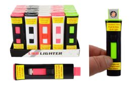25 Units of Flameless Usb Rechargeable Lighter - Lighters