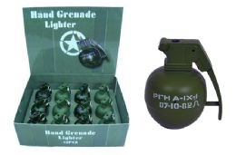 48 Units of Grenade Lighter With Sounds - Lighters