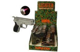 24 Units of Handgun Lighter With Laser - Lighters