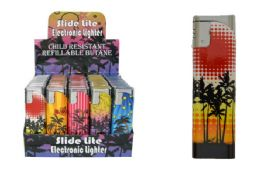 50 Units of Palm Tree Electronic Lighter - Lighters
