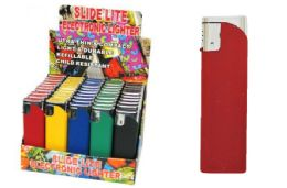 50 Units of Rubber Coated Electronic Lighte - Lighters
