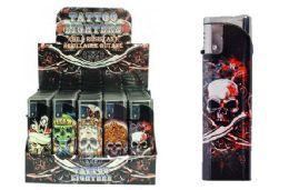 50 Units of Skull Electronic Lighters - Lighters