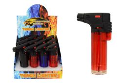 24 Units of Torch Lighter Clear - Lighters