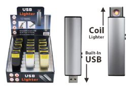 36 Units of Usb Rechargeable Lighter - Lighters