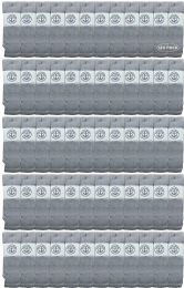 120 Units of Yacht & Smith Men's 30 Inch Premium Cotton King Size Extra Long Gray Tube Socks- Size 13-16 - Big And Tall Mens Tube Socks