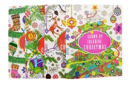 96 Units of Adult Coloring Book Christmas - Christmas Novelties
