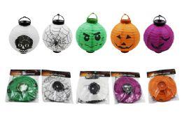 108 Units of Halloween Paper Lantern - Halloween & Thanksgiving