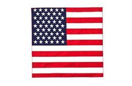 48 Units of American Flag Bandana - 4th Of July