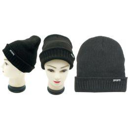 36 Units of Men's Sport Winter Hat - Winter Hats