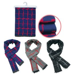 36 Units of Men's Fashion Scarf - Winter Scarves