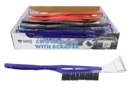 48 Units of SNOW BRUSH WITH ICE SCRAPER - Auto Accessories