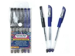 144 Units of 6pc Gel Ink Pens - Pens