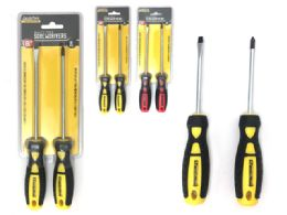 "72 Units of Screwdrivers 6""l 2pc - Screwdrivers and Sets"