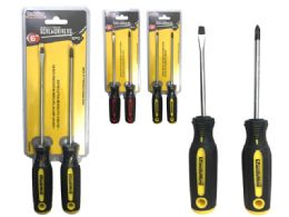 "72 Units of 6""l 2pc Screwdrivers - Screwdrivers and Sets"