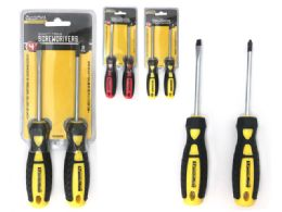 "72 Units of 4""l 2pc Screwdrivers - Screwdrivers and Sets"