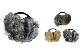48 Units of Fur Earmuffs - Ear Warmers