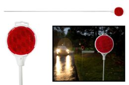 50 Units of Reflective Driveway Marker - Auto Sunshades and Mats