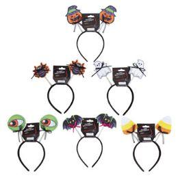 48 Units of Novelty Halloween Headband - Costumes & Accessories