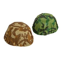 48 Units of Assorted Color Army Helmet - Costumes & Accessories