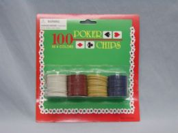 48 Units of 100 Piece Poker Chips - Playing Cards, Dice & Poker