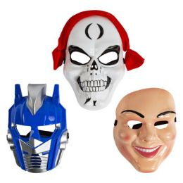 48 Units of Assorted Halloween Masks - Costumes & Accessories