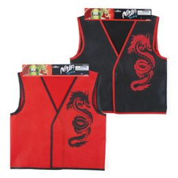 72 Units of Children Size Ninja Vest /header Card - Costumes & Accessories