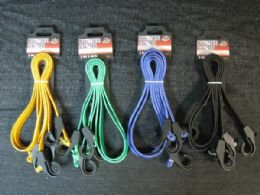 48 Units of BUNGEE CORD 2 PIECE SET ASSORTED COLOR - Bungee Cords