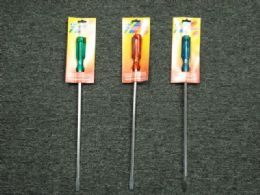 48 Units of 12 INCH SCREWDRIVER FLAT PHILIP - Screwdrivers and Sets