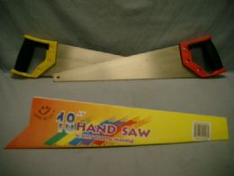 24 Units of Hand Saw With Plastic Handle - Saws