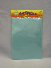 96 Units of Assorted Transparent File Sleeve - Sheet protector