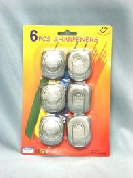 36 Units of 6 Piece Pencil Sharpener - Sheet protector