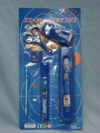 36 Units of STATIONARY ORGANIZE SET BOY DESIGN - School Supply Kits
