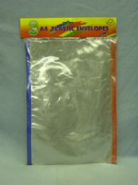 72 Units of File Envelopes With Zipper - Sheet protector
