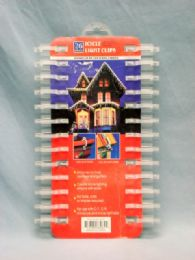 36 Units of 26 Piece Icicle Light Clips - Christmas Decorations